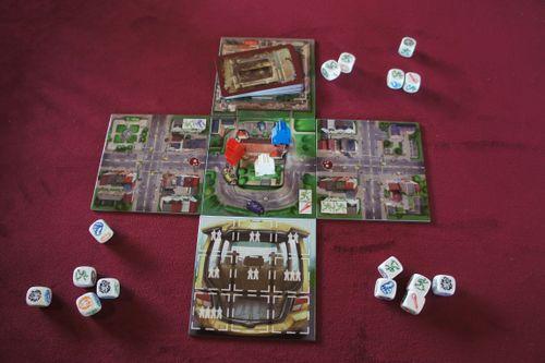 Board Game: Escape: Zombie City