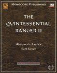 RPG Item: The Quintessential Ranger II: Advanced Tactics