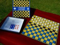 Board Game: Canadian Checkers