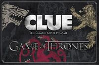 Board Game: Clue: Game of Thrones