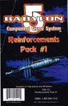 Board Game: Babylon 5 Component Game System: Reinforcements Pack #1