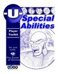 RPG Item: -U- Special Abilities