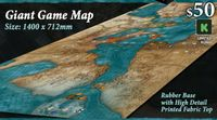 Board Game Accessory: Mare Nostrum: Empires – Giant Map
