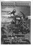 Issue: Anonima Gidierre (Numero 14 - Novembre/Dicembre 1997)