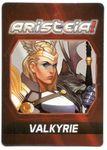 Board Game Accessory: Aristeia!: Valkyrie Alternate Art Card