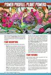RPG Item: Power Profile #19: Plant Powers