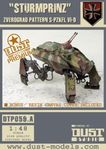 """Board Game: Dust Tactics: Axis Armored Transport – """"Prinzluther / Sturmprinz"""""""