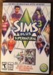 Video Game: The Sims 3: Supernatural