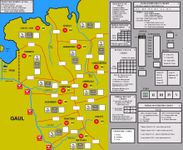 Board Game: Germania: Drusus' Campaigns 12-9 BC