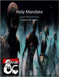 RPG Item: Holy Mandate Chapter 10: Depths