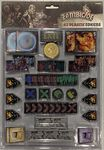 Board Game Accessory: Zombicide: Black Plague – Plastic Token Pack
