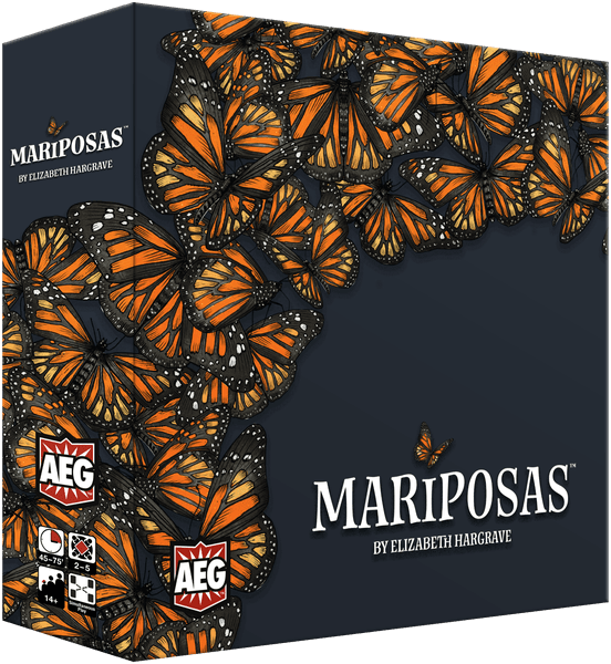 Mariposas Box Render