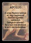Self made Apollo card