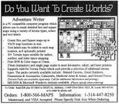 RPG Item: Adventure Writer