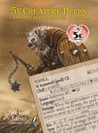 RPG Item: 5e Creature Decks: Constructs, Giants, Humanoids, & Undead