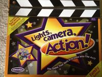 Board Game: Lights, Camera, Action!