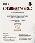 RPG Item: DDAL08-02: Beneath the City of the Dead