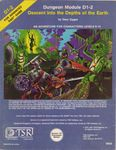 RPG Item: D1-2: Descent into the Depths of the Earth