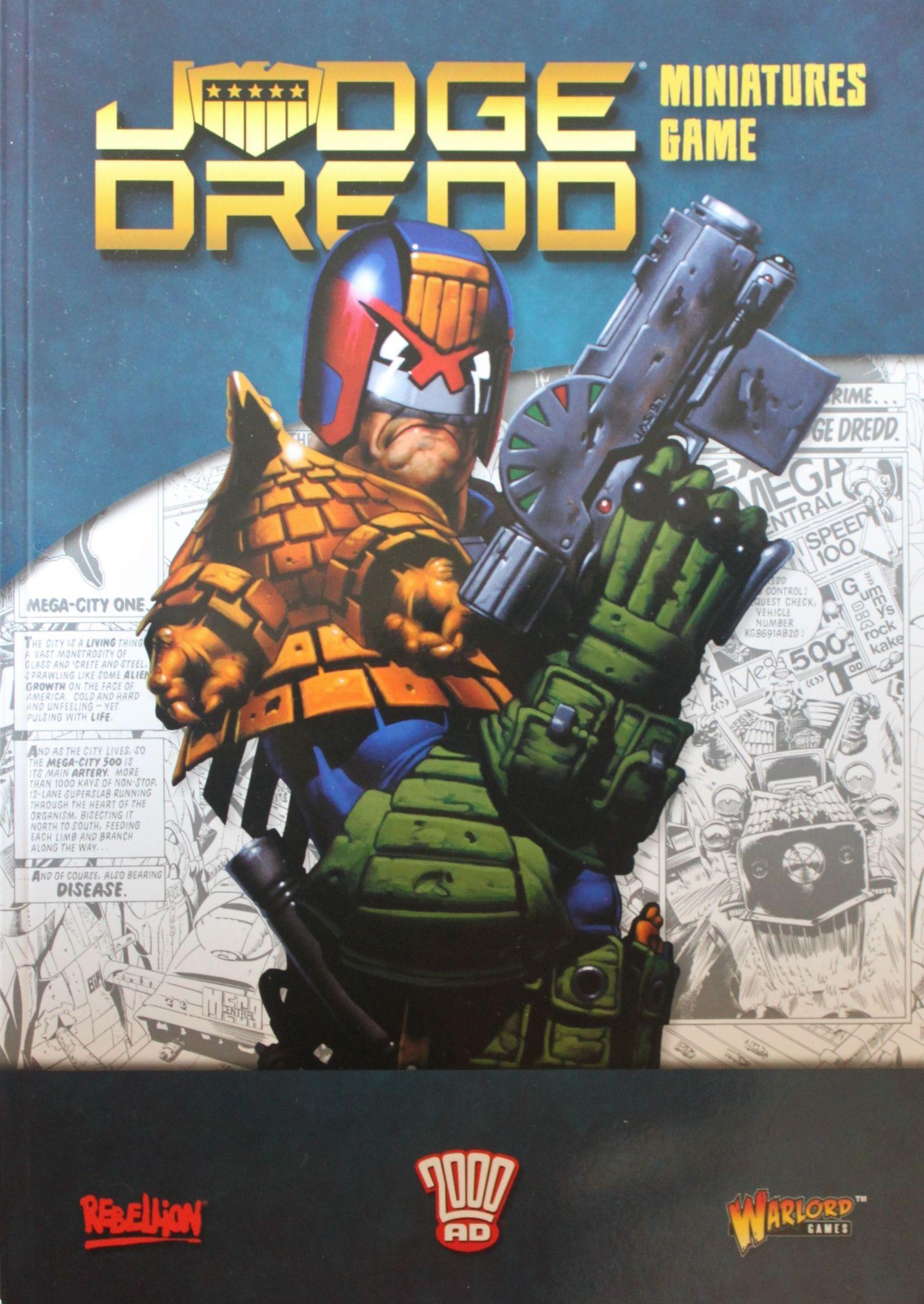 Judge Dredd Miniatures Game: Rulebook