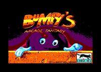 Video Game: Bumpy's Arcade Fantasy