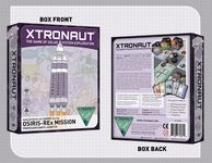 Board Game: Xtronaut: The Game of Solar System Exploration