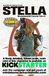 RPG Item: Breachworld Character Folio #3: Stella (Savage Worlds)