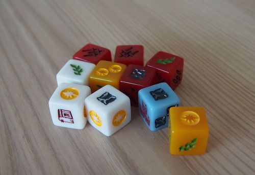 Board Game: Nations: The Dice Game