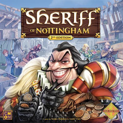 Board Game: Sheriff of Nottingham (2nd Edition)