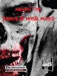 RPG Item: Hatchet Men: Slashers in Heroic Horror