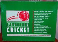 Board Game: Pavilion Cricket