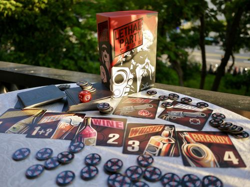 Board Game: Lethal Party