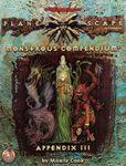 RPG Item: Monstrous Compendium Planescape Appendix III