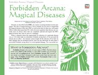 RPG Item: Magical Diseases