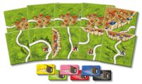 Board Game: Carcassonne: The Tollkeepers