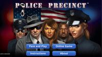 Video Game: Police Precinct:  ONLINE