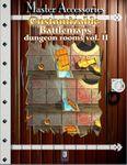 RPG Item: Customizable Battlemaps: Dungeon Rooms Vol. II