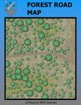 RPG Item: Forest Road Map