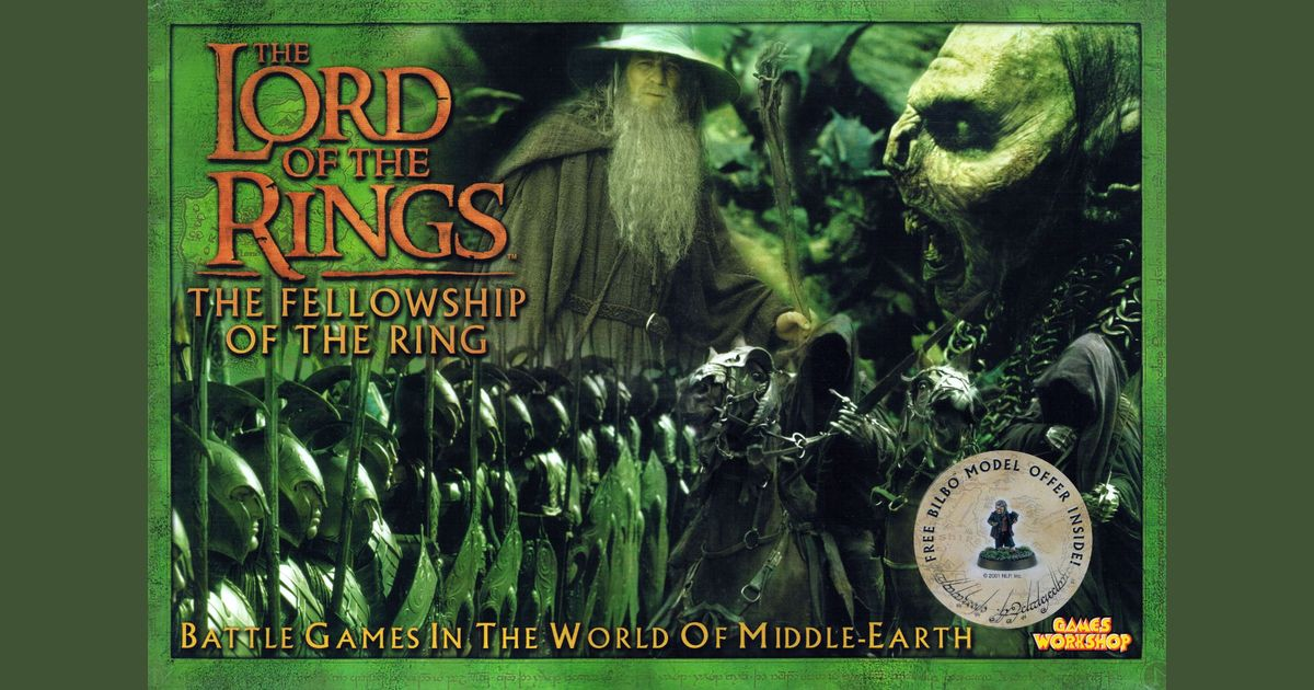 The Lord Of The Rings The Fellowship Of The Ring Board Game Boardgamegeek