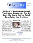 Issue: Polyglot (Volume 1, Issue 17 - Oct 2005)