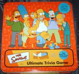 Board Game: The Simpsons Trivia Game