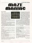 Video Game: Maze Maniac