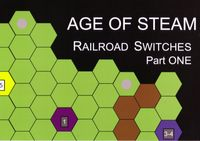 Board Game: Age of Steam Expansion: The Railroad Switches
