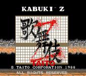 Video Game: Kabuki-Z