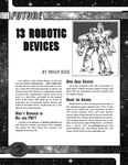 RPG Item: 13 Robotic Devices