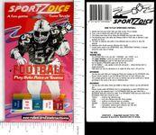 Board Game: Sportz Dice: Football