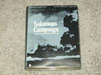 Board Game: Solomons Campaign: Air, Land, and Sea Warfare, Pacific 1942