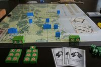 1836 Start, Mexican perspective. This setup will vary if playing the campaign game, depending on how 1835 plays out.