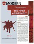 RPG Item: Team Bravo: The First Assignment