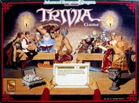 Board Game: Advanced Dungeons & Dragons Trivia Game