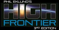 Board Game: High Frontier (Third Edition)